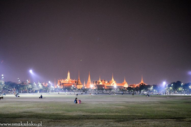 Bangkok - pola ryżowe