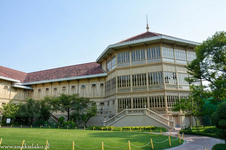 Bangkok - Pałac Vienmanek