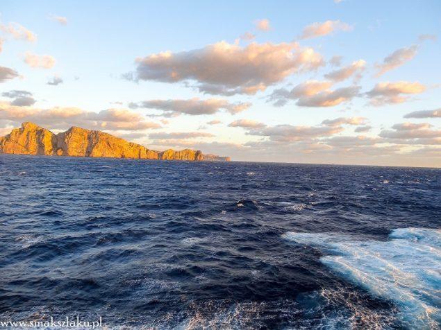 Majorka widziana ze strony morza