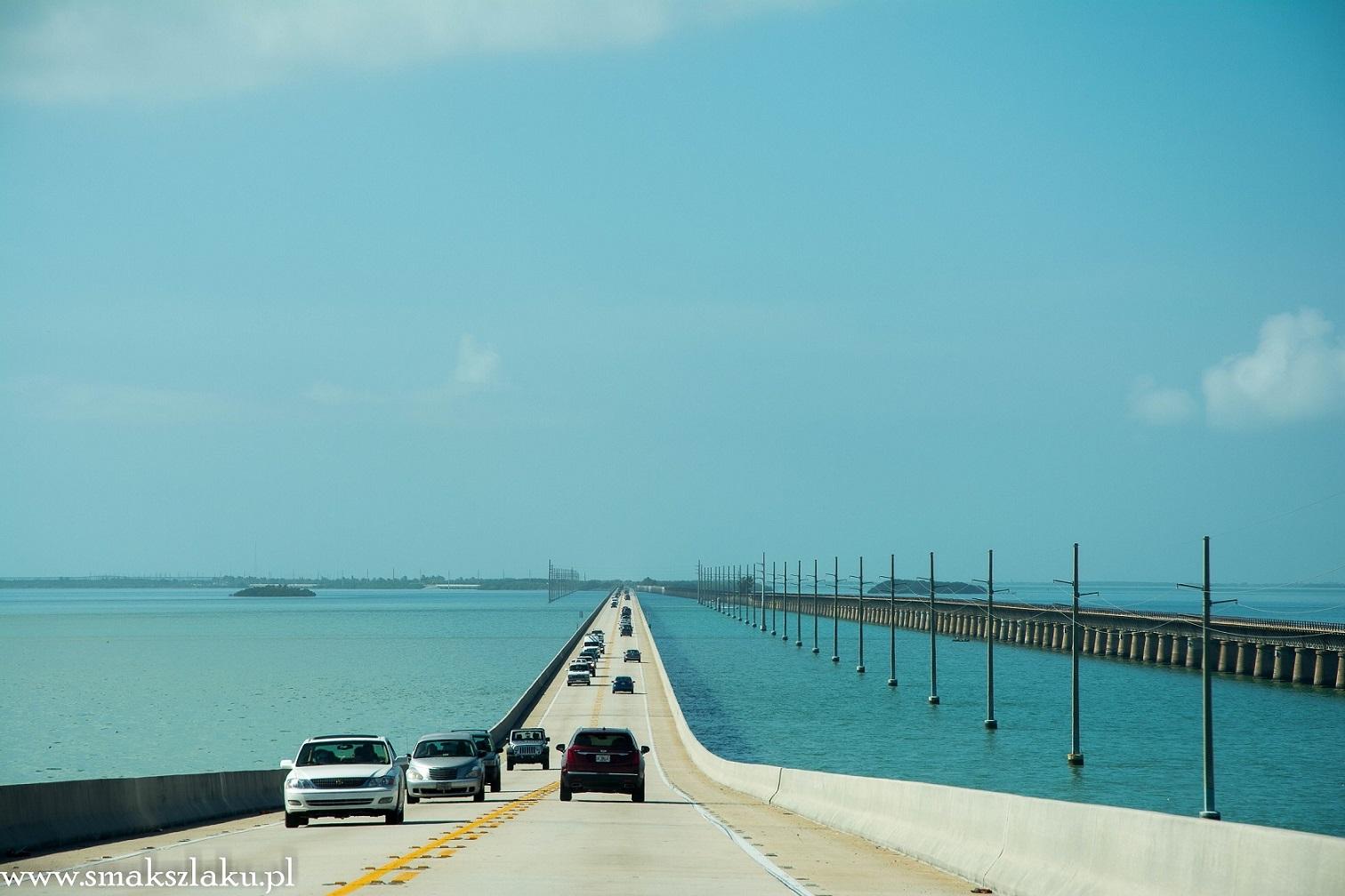 Seven Mile Bridge - w drodze na Key West
